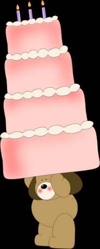 Big Birthday Cake Puppy