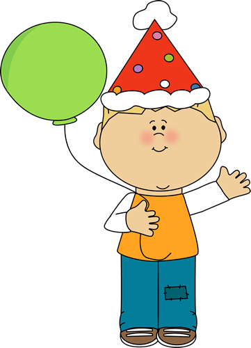 Boy with Birthday Balloon
