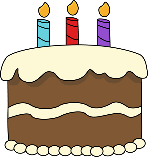 Cake Images Clip Art : Chocolate Birthday Cake Clip Art - Chocolate Birthday Cake ...
