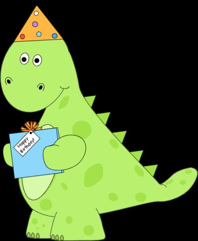 Dinosaur Birthday Present