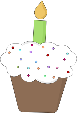 fun birthday cupcake clip art fun birthday cupcake image rh mycutegraphics com birthday cupcakes clipart birthday cupcake clip art with month
