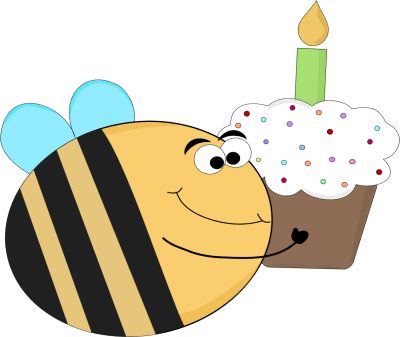 Funny Birthday Bee