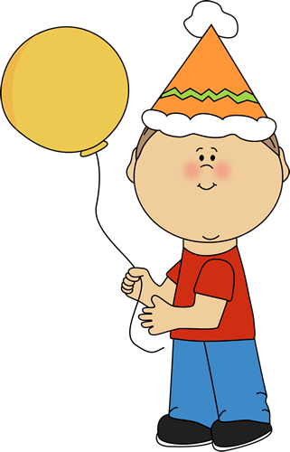 Kid with Birthday Balloon