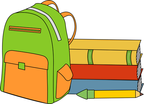 Books and Backpack