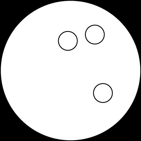 Black & White Bowling Ball