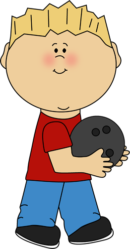 Boy with Bowling Ball