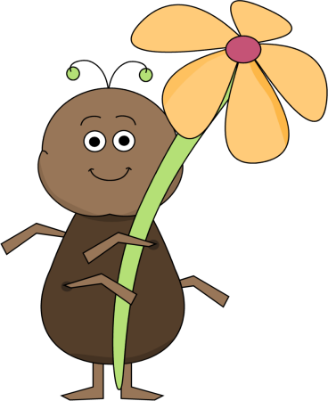 Ant with a Flower with a Flower