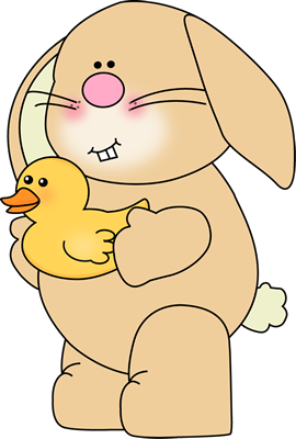 Bunny with Yellow Duck