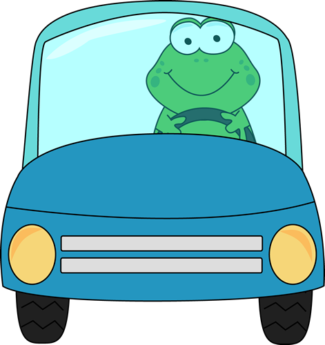 frog driving a car clip art frog driving a car image rh mycutegraphics com driving clipart black and white driving clipart gif
