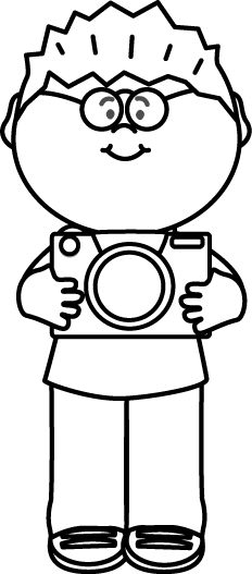 Career Clipart For Kids Black And White