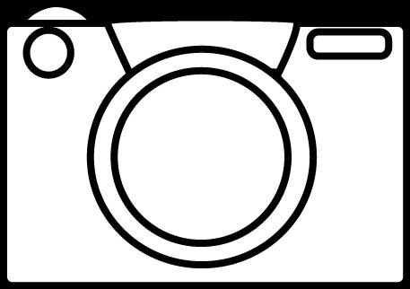 Clip Art Camera Clipart Black And White black and white camera clip art image camera