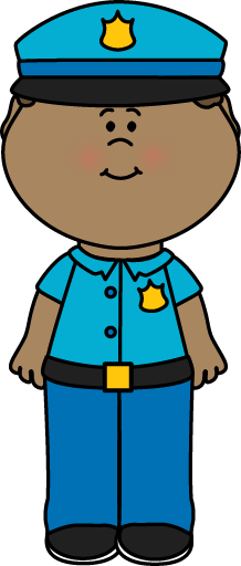 Boy Police Officer Clip Art - Boy Police Officer Image