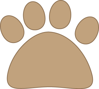 Brown Cat Paw