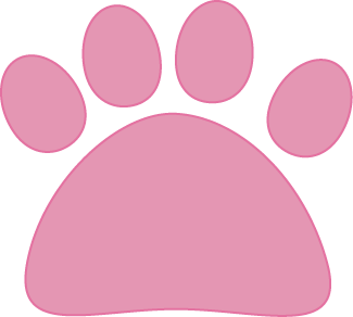 Pink Cat Paw