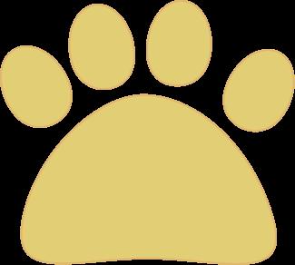 Yellow Cat Paw
