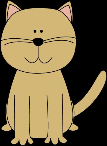 Cute Cartoon Cat Clip Art Cute Cartoon Cat Image