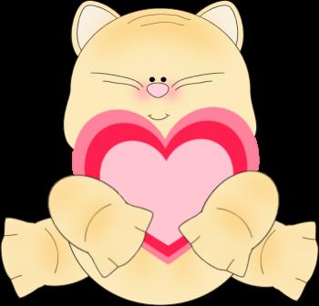 Valentine Bunny Clipart