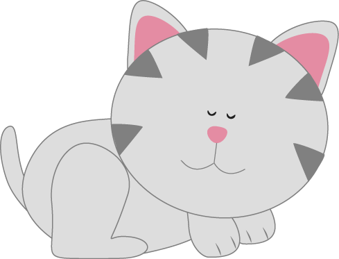 Resting Kitty Cat