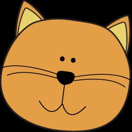 Orange Cat Head