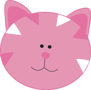 Pink Cat Face