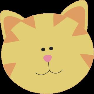 Yellow Cat Face