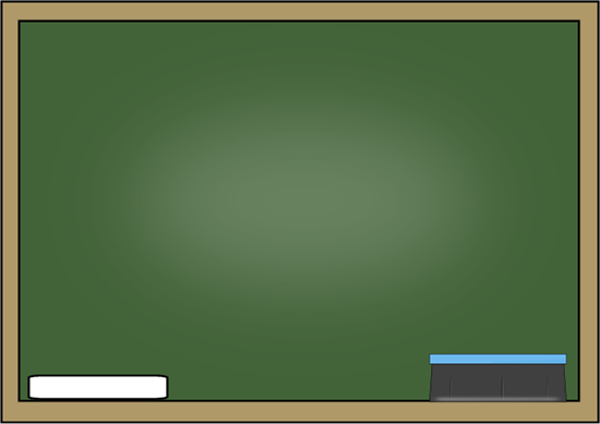 School Chalk Board Clip Art Clip art > chalkboard with