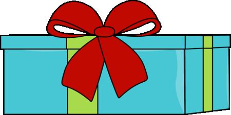 Blue Christmas Gift