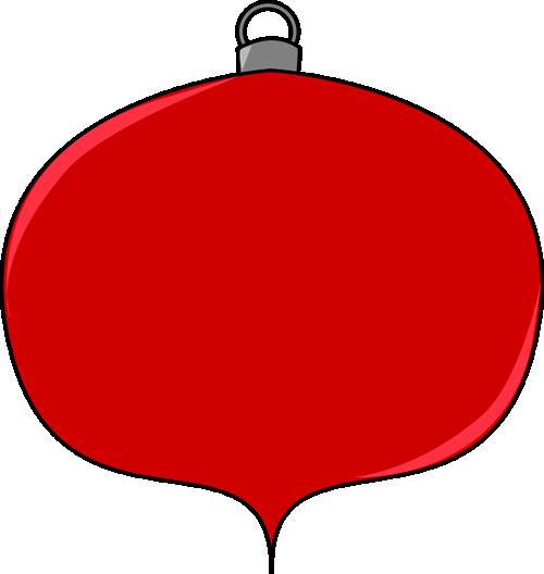 Christmas ornament clip art image