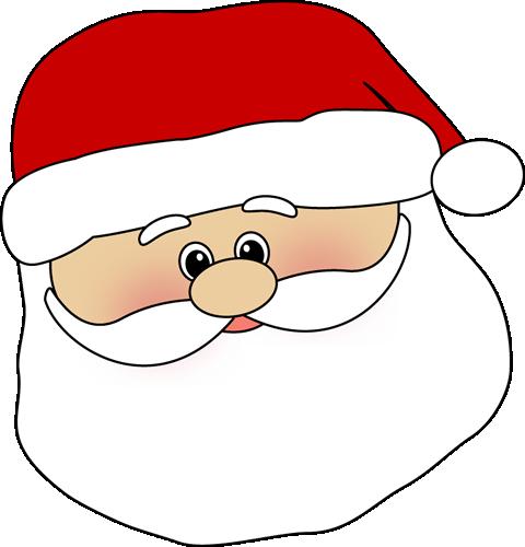 Santa Clauss Face Cartoon Images | New Calendar Template Site