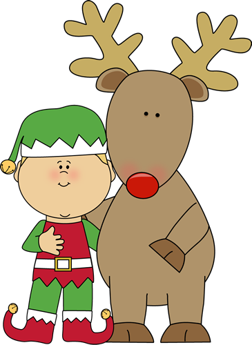 Elf and Reindeer