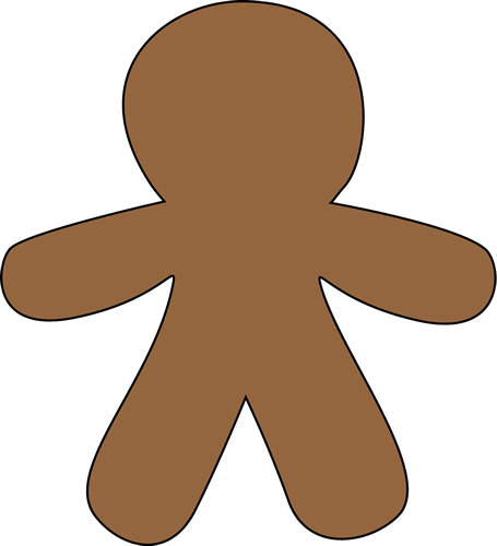 Blank Gingerbread Man