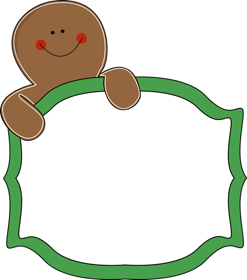 Gingerbread Man Sign