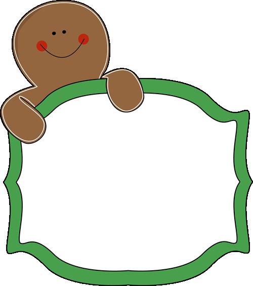 Gingerbread Man Sign