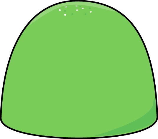 Gum Clipart Green christmas gum drop clip
