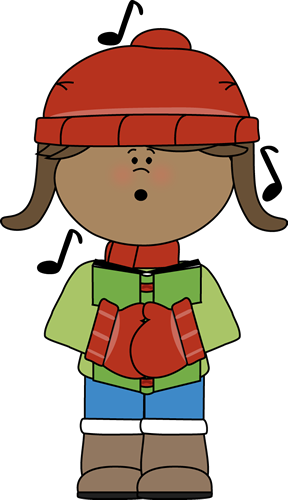 Kid Christmas Caroler
