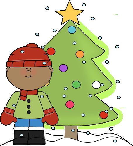 Christmass kids. Christmas clip art images
