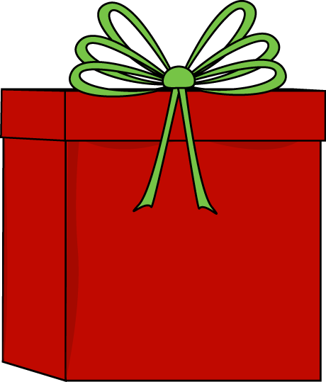 Red and Green Christmas Gift