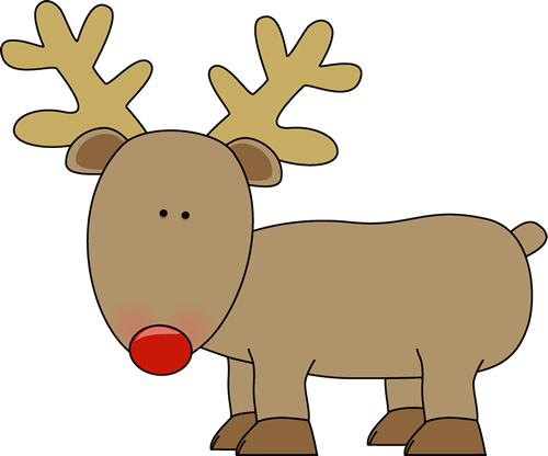 Cute reindeer head clipart - photo#12
