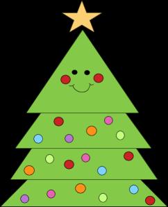 Smiling Christmas Tree