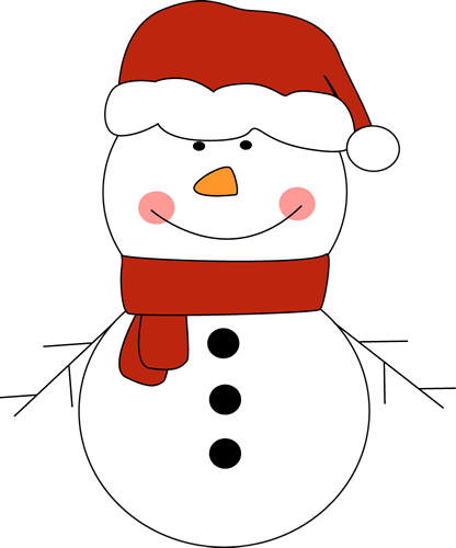 Snowman Hat Clipart | New Calendar Template Site