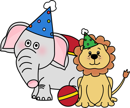 Circus Animals Clip Art