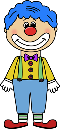 Circus Clown Clip Art