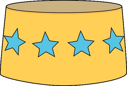 Yellow Circus Stool