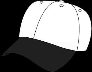 Black and White Baseball Hat