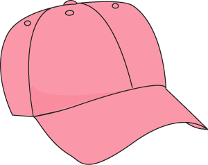 pink baseball hat clip art pink baseball hat image rh mycutegraphics com cartoon baseball hat clipart baseball caps clipart
