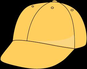 Clip Art Baseball Hat Clipart yellow baseball hat clip art image hat