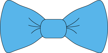 Blue Bow Tie