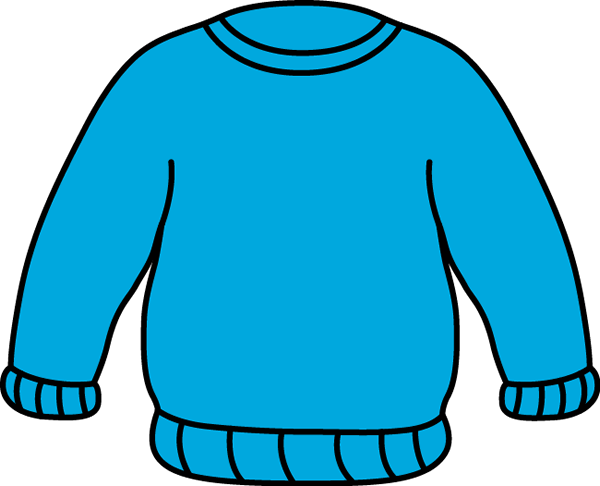 Blue Sweater Clip Art