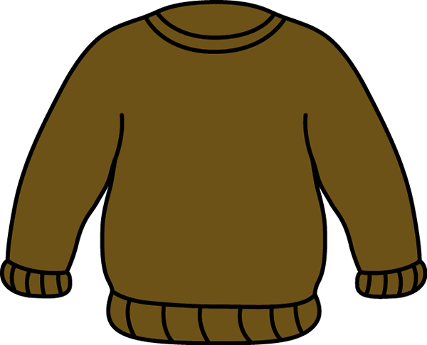 Brown Sweater Clip Art