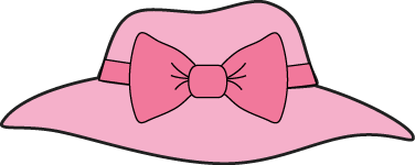 Pink Girls Hat With a Bow